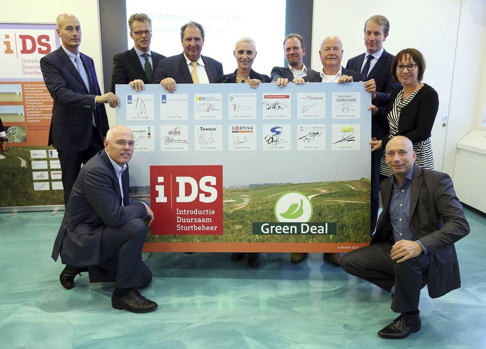 Ondertekening Greendeal Duurzaam Stortbeheer